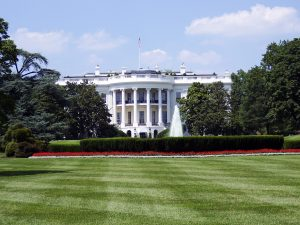 white house photo, front lawn